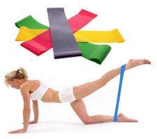 Oferta Banda Elástica de Resistencia Fitness, CrossFit, Estiramientos